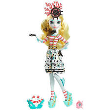Monster High Doll Shriekwrecked Lagoona Blue Daughter of the Sea Monster New