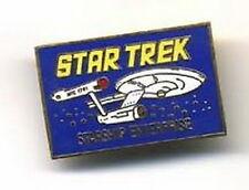1985 Star Trek Starship Enterprise Metal Cloisonne Pin (Trk-0001)