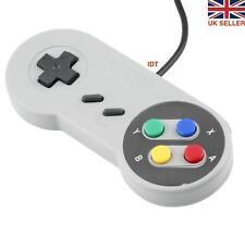 2x Retrò Super Nintendo SNES Controller USB jopypads per Vincere PC Mac Gamepad