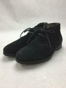 Salvatore Ferragamo Chukka Us6.5 Suede Black Size US6.5 Boots From Japan