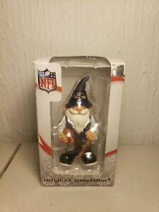 NFL Baltimore Ravens Gnome Christmas Ornament