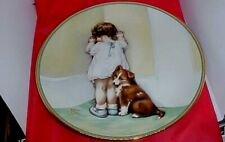 1985 Bessie Pease Guttman Hamilton Collection plate In Disgrace,