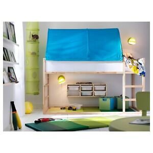 IKEA KURA Bed Tent, Turquoise Colour, Perfect For Childs Bed Childs Bedroom