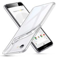 For Google Pixel 3 Case Transparent Clear Silicone Slim Gel Cover