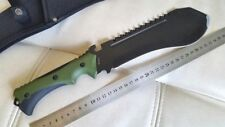 "Machete ""TAIGA-N"" Black YVSR Survival Tools Knife Saw Russian Army by NOKS"