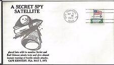 1971 Secret Military satellite placed in Orbit to identify attacks