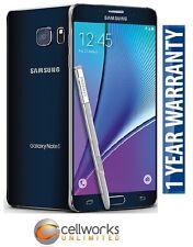 Samsung Galaxy Note 5 ( Sprint ) N920P 32GB Black Sapphire CLEAN IMEI 4G LTE