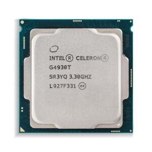 Intel Celeron G4930T Dual Core CPU 3.30 GHz 2M Cache SR3YQ 35W Processor