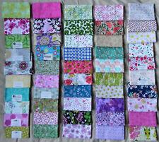 "50 Fat Quarters, Assorted Floral Patterns, 18""x21"" Cotton Fabrics, New #2"