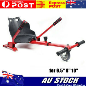 Go Kart Hover Kart HoverKart Stand Seat for electric balance scooter Red AU