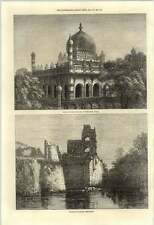 1871 Palazzo di Giustizia Bijapur tomba di Re Ibrahim