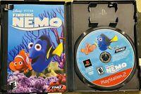 Finding Nemo (PlayStation 2, 2003) Complete PS2 Disney Pixar