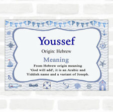 Youssef Name Meaning Nautical Certificate