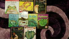 Lot Of Childrens Kids Reptile Books Snakes Frogs Tadpoles Amphibian Animals