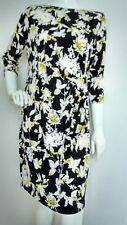 WALLIS floral tunic shift dress size 18 --BRAND NEW-- 3/4 sleeve knee length