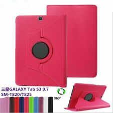 Samsung Galaxy Tab S3 9.7 inch T820 T825 Rotating PU Leather Stand Flip Case