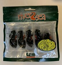 RIVER2SEA🔥Stand'N Yabbie 40🔥Craw Jigs🔥Brand New!🔥(DS)!🔥
