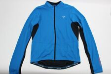 PEARL iZUMi Men's Select Attack Jersey Long Sleeve Cycling Mykonos Blue/Black Sm