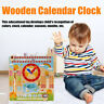 Multi-function Calendar Date Clock Children Learning Early Educational Toys