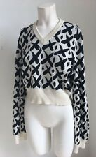 1980's Graffiti Style Knit Sweater Keith Harring Inspired Rei Comme