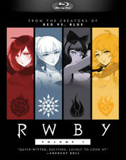 RWBY ,  Volume 1 - BLU RAY - Region free