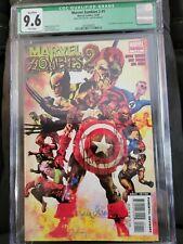 Marvel Zombies 2 CGC 9.6 Signed Arthur Suydam Civil War 1 Homage 12/07 Avengers