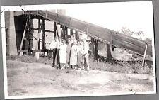 VINTAGE 1920-35 SARATOGA WYOMING LOGGING LUMBER YARD SAWMILL FLAPPER GIRLS PHOTO