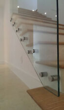 Pack of 6 Glass Stand off glass staircase frameless