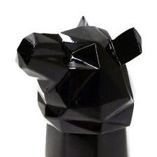 Animal Shot Glass Black Bear Ceramic/Pewter Whiskey Spirit Animal By Molla Space
