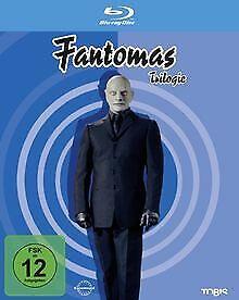 Fantomas - Trilogie [Blu-ray] von Hunebelle, Andre | DVD | Zustand sehr gut