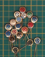 Elektrizace železnic zeleznic EZ Praha a.s. Prague Prag stick pin badge