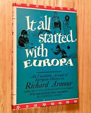 IT ALL STARTED WITH EUROPA by Richard Armour (SIGNED)