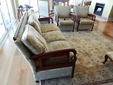 ART DECO 3 PIECE (5 SEAT) LOUNGE SUITE FULLY RESTORED
