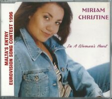 "Miriam Christine ""In a women's heart"" Malta Eurovision 1996 Dutch pressing"