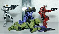 McFARLANE TOYS Halo 3 Heroic Collection Lone Wolves 2 UNSC Troops + extra figure