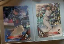 (2) 2016 Topps Chrome Blue Refractor /150 Trayce Thompson #131 Rookie +Pulsar RC