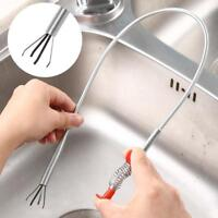Abflussreiniger Rohreiniger Edelstahl Abflußspirale Badezimmer Abflussfrei P8N8