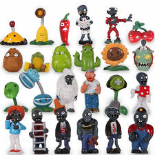 PLANTS vs ZOMBIES - SET 24 FIGURAS / SUPER SET / 24 FIGURES SET