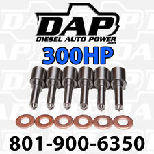 ( 6 ) 300HP NOZZLES FITS DODGE CUMMINS DIESEL 1998-2002 injectors VP44  300 HP