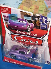 DISNEY PIXAR CARS HOLLEY SHIFTWELL With SCREEN 1/9 PALACE CHAOS BRAND NEW & RARE