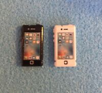 Dolls House Miniature 1/12th Scale Mobile Iphone Black or White - non working