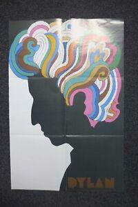 milton glaser bob dylan reproduction poster
