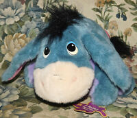 Fisher Price Ask Me More Eeyore Talking Plush Toy Moving Head Talks Disney 12""