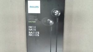 In-Ear Headphones - Black