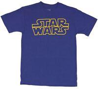 Star Wars Mens T-Shirt  - Star Wars Classic Logo Image