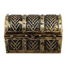 Plastic Pirate Jewellery Storage Box Case Holder Vintage Treasure Chest WT