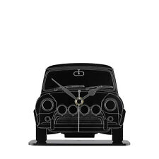 Mini Cooper Car Front View Mantel Clock Acrylic - Made in Cornwall MC.B.MIF01