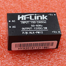 HLK-PM12 AC-DC 220V to 12V 3W Buck Step Down Power Supply Module Convert