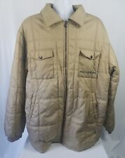 Rocawear Men's Coat Jacket Beige Big&Tall  2XL XXL Jay-Z Dame Dash era.