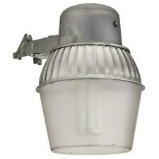 Lithonia Lighting Wall-Mount 10 in. Outdoor Metallic Fluorescent Area Light 65W